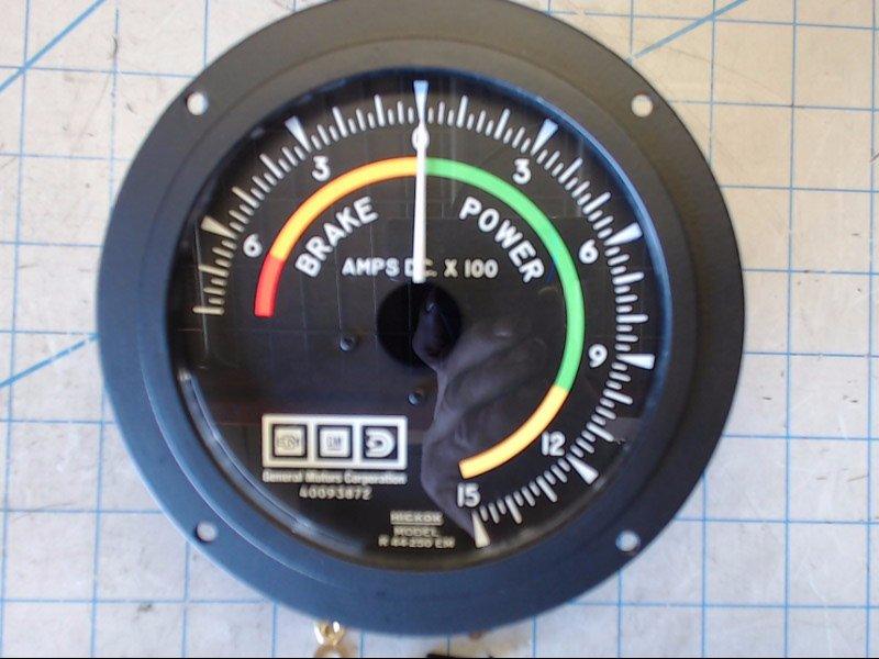Locomotive Ammeters New Amp Unit Exchange Exceeds Oem