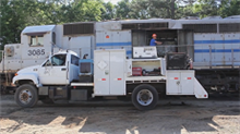 PowerRail Mobile Maintenance Service Truck