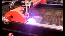 Avoca Rail Products of Duryea, PA - CNC Plasma Table
