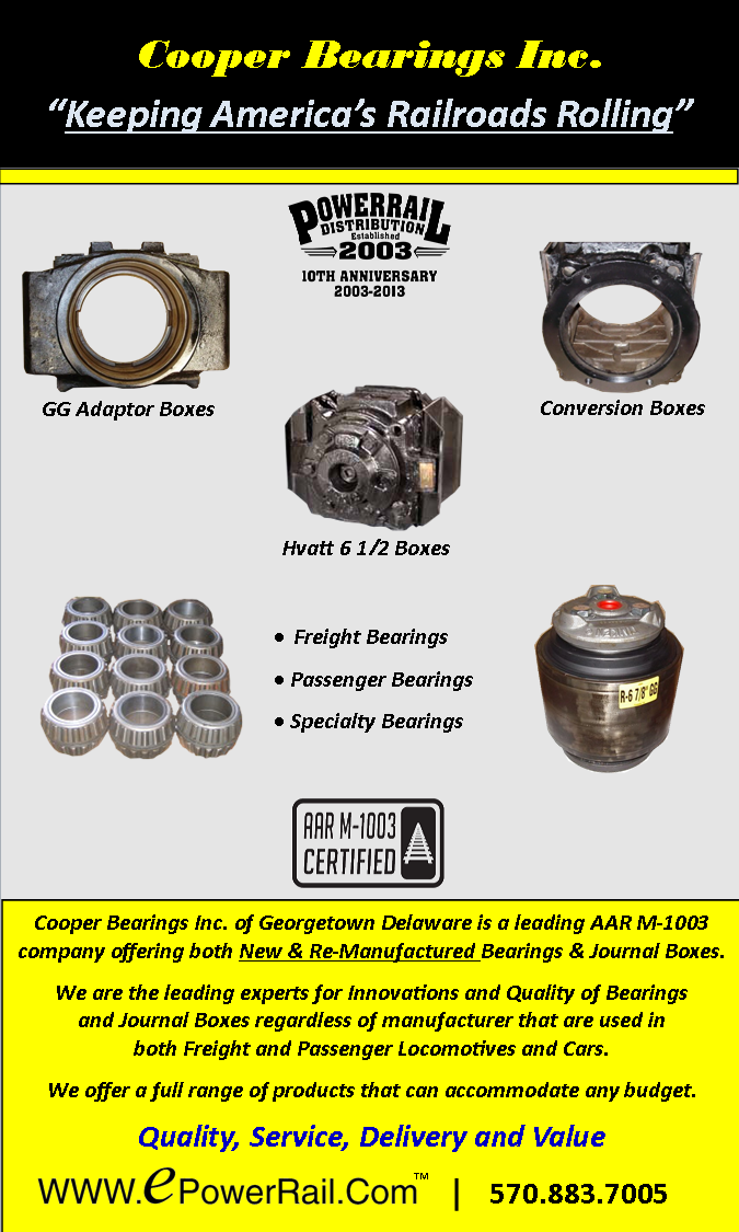 Cooper Bearings Ad 2013