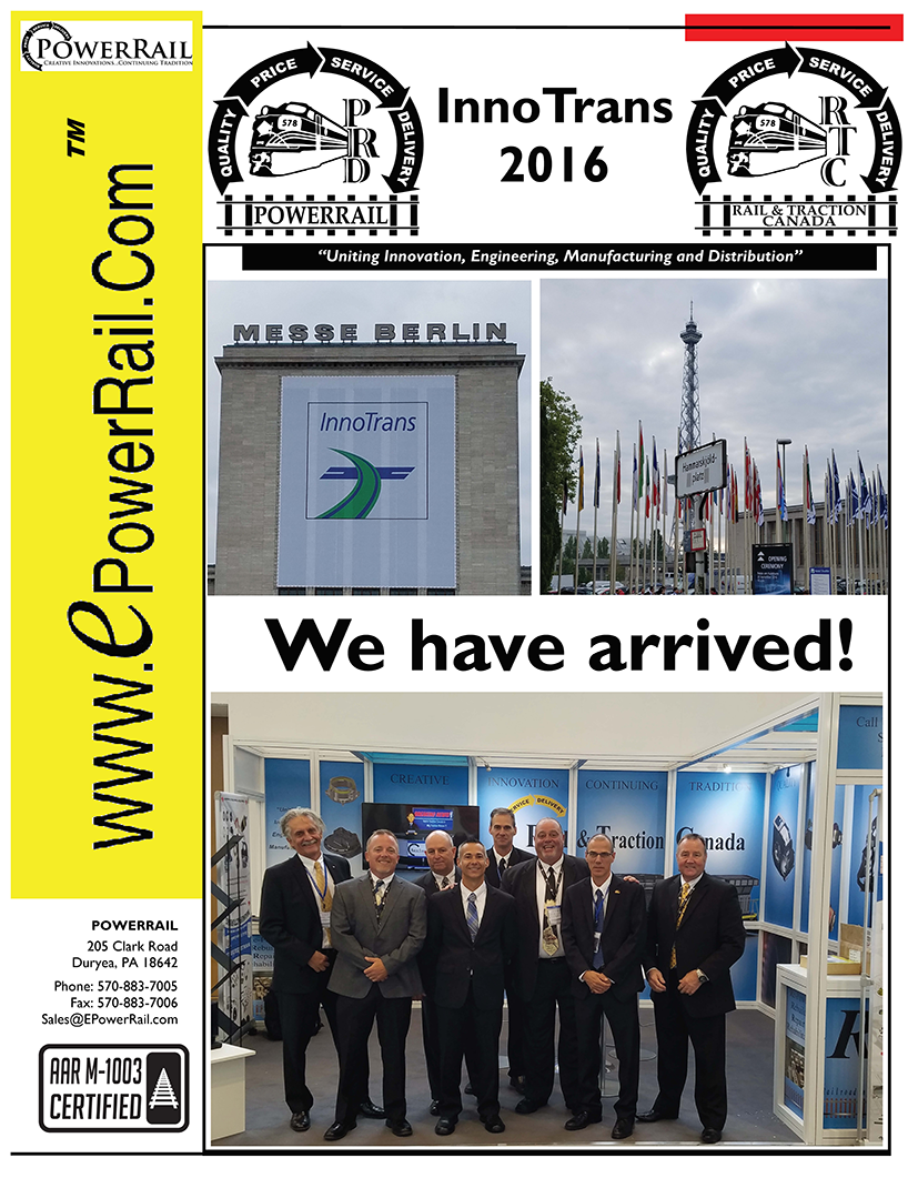 PowerRail at InnoTrans 2016