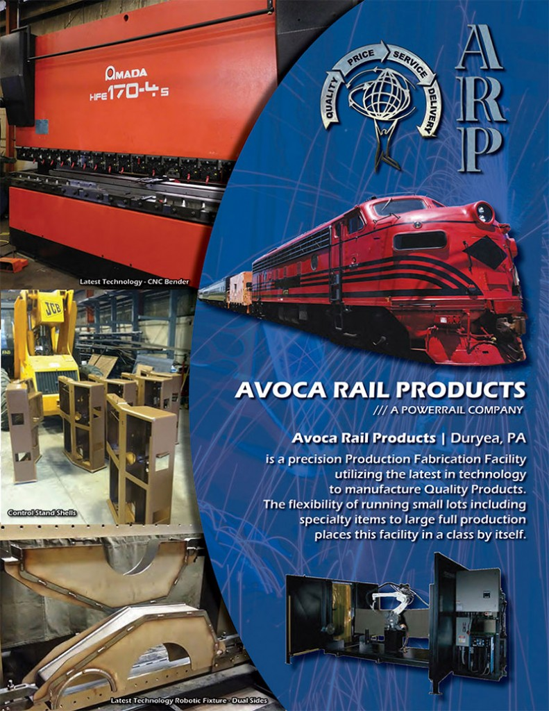 Avoca Rail Products is Bringing Back Jobs with ALL NEW PARTS Made in the USA
