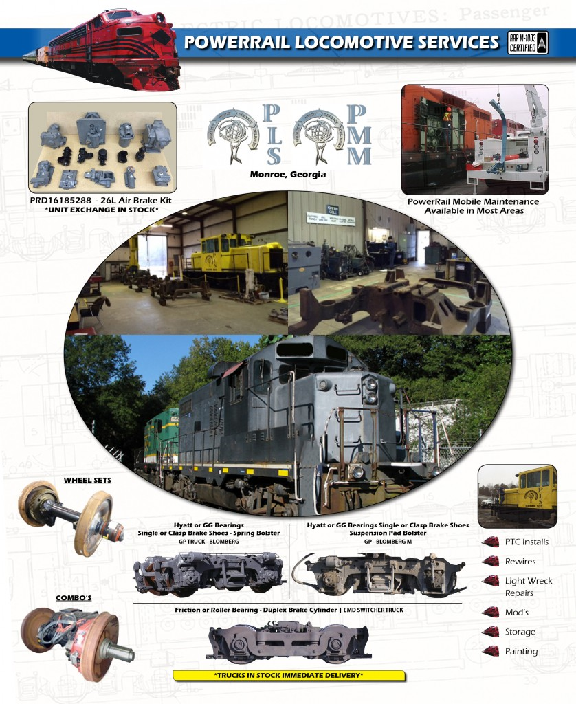 PowerRail Locomotive Services Expands Product Offering and Field Support